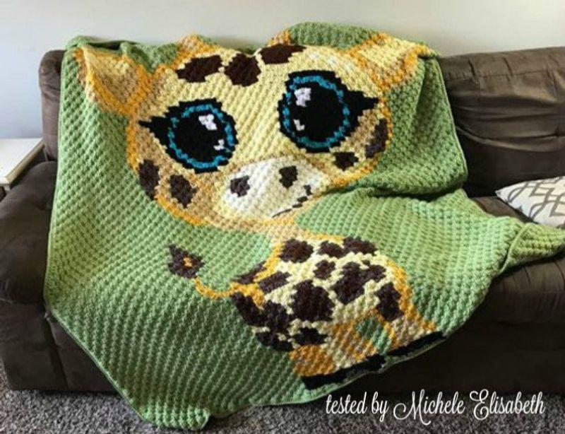 Baby Giraffe Afghan by CrochetCouch
