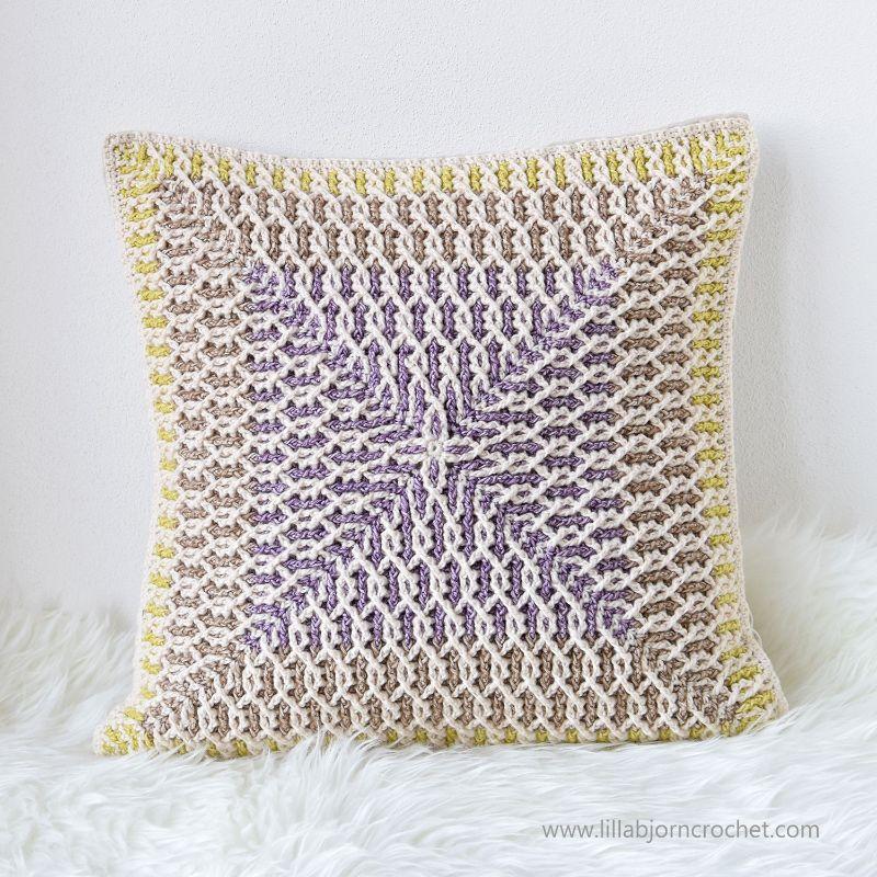 Brioche Infinity Pillow by Tatsiana Kupryianchyk