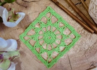 Stiffening in crochet