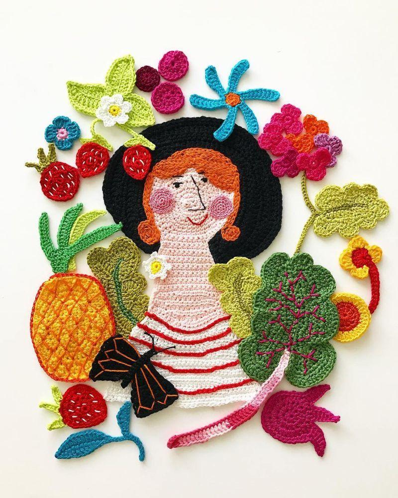 Yarn illustrations by Tuija Heikkinen