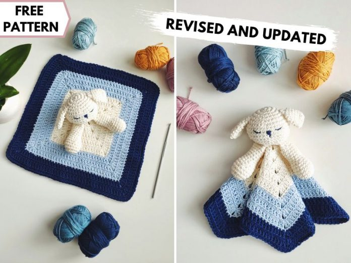 Puppy Baby Lovey Free Crochet Pattern Revised and Updated ft