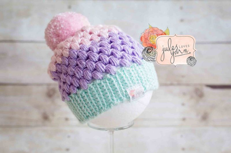 Cupcake Puff Hat by Julie Schappert