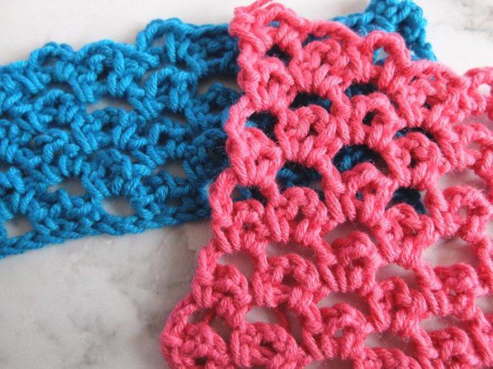 loops in loops crochet stitch step by step tutorial