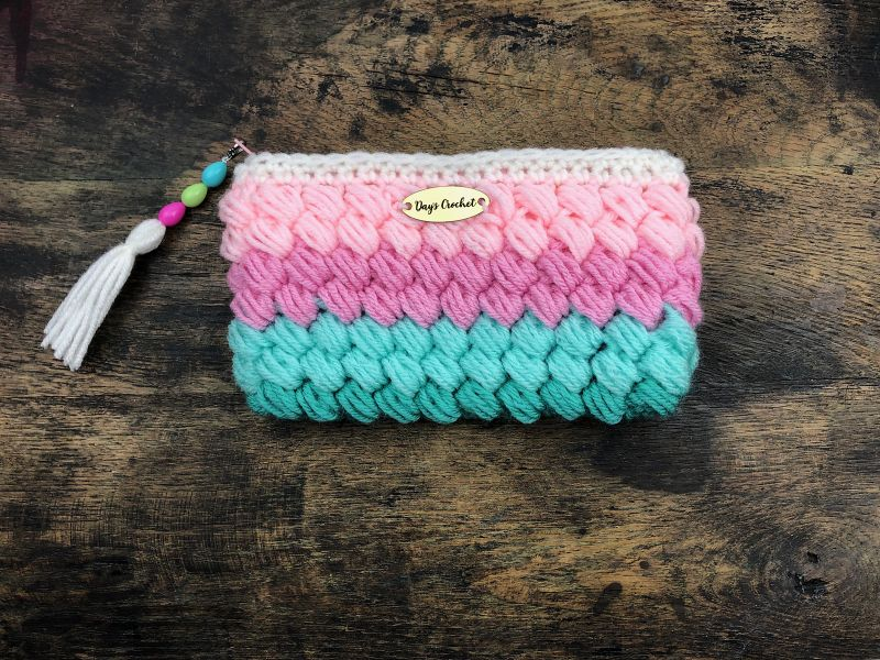 Puff Stitch Bag from Dana Hogan