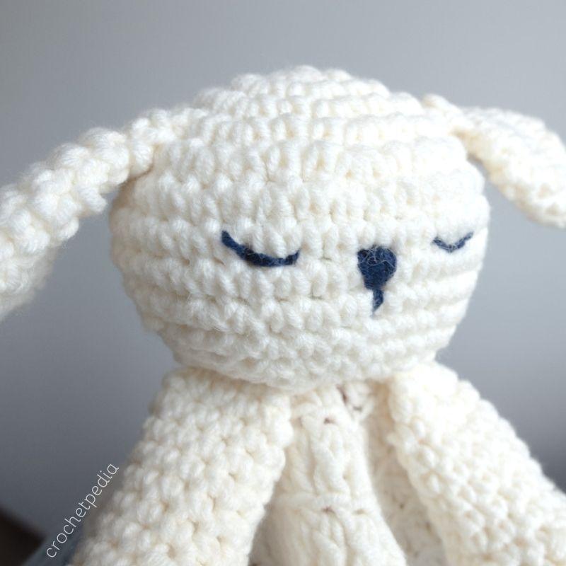 Puppy Baby Lovey Free Crochet Pattern Crochetpedia