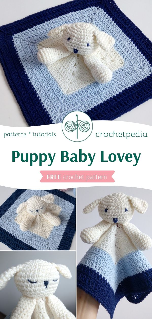 Puppy Baby Lovey - Free Crochet Pattern