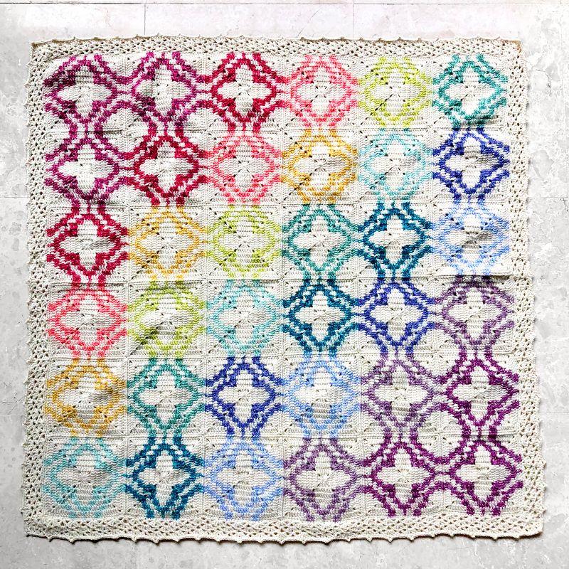 Falling Lights Blanket by Magdalene Lee