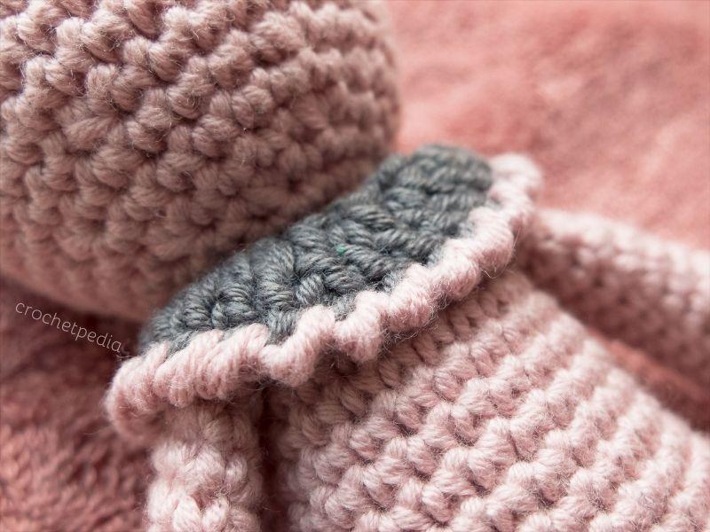 Rose Bunny Amigurumi Free Crochet Pattern