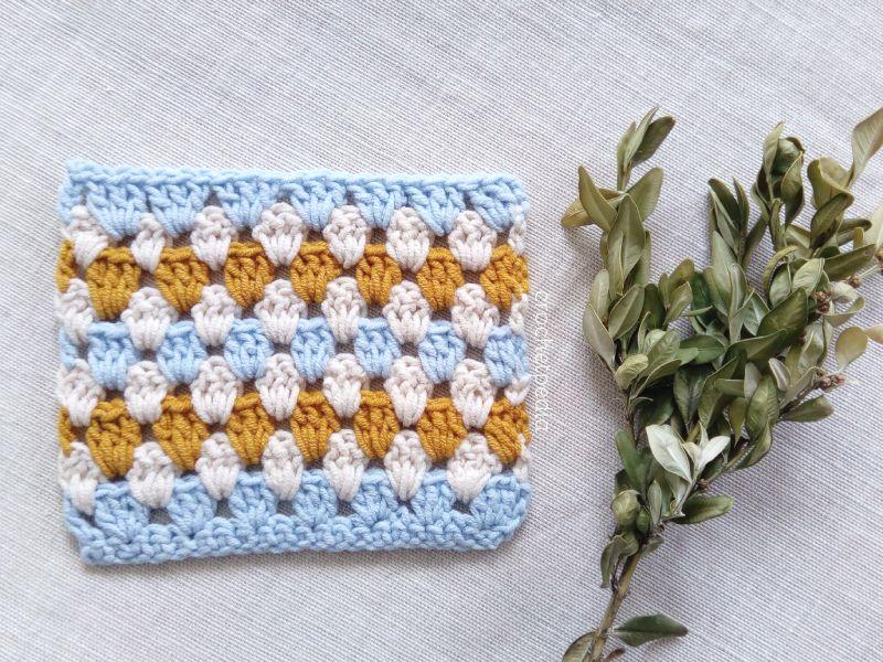 How To Crochet Granny Stripe Stitch