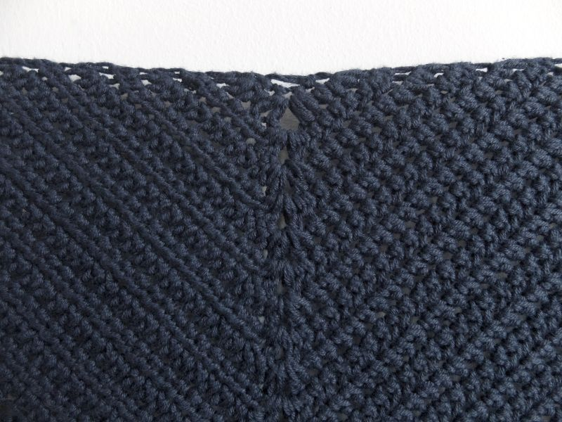 Lake Midnight Shawl - Free Crochet Pattern