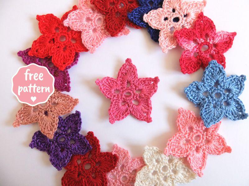 Crochet amigurumi little stars - Free pattern - Akamatra | 600x800