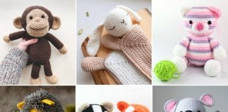 Cuddly Amigurumi Animals Free Crochet Patterns
