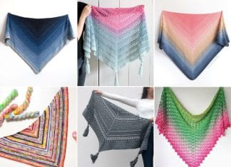 Easy Shawls For Beginners Free Crochet Patterns