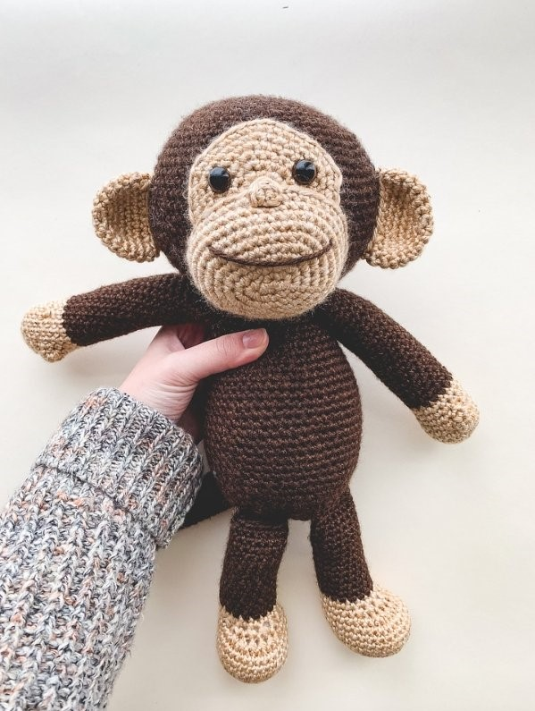 Happy Monkey Free Crochet Pattern