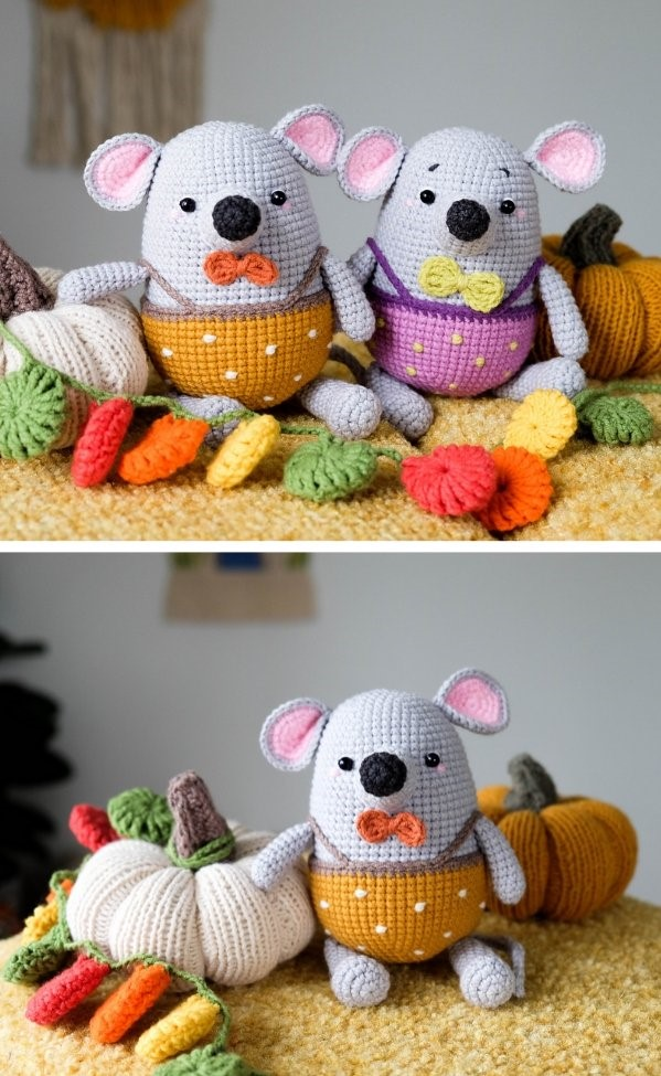 Little Mouse Li Free Crochet Pattern