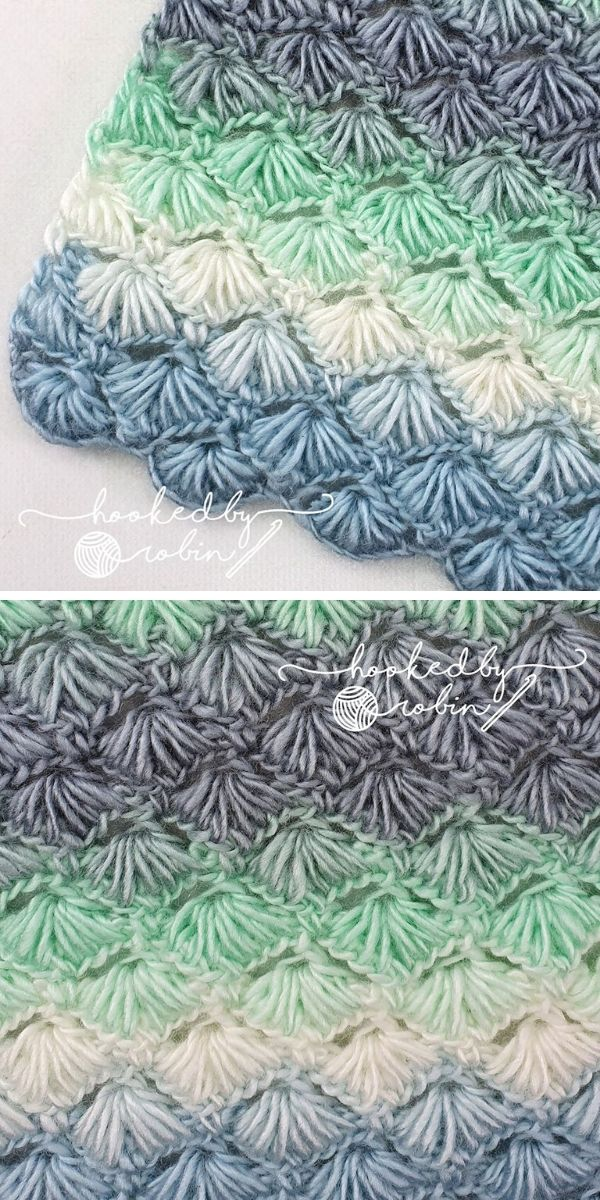 Versatile Puffy Shell Star Stitch