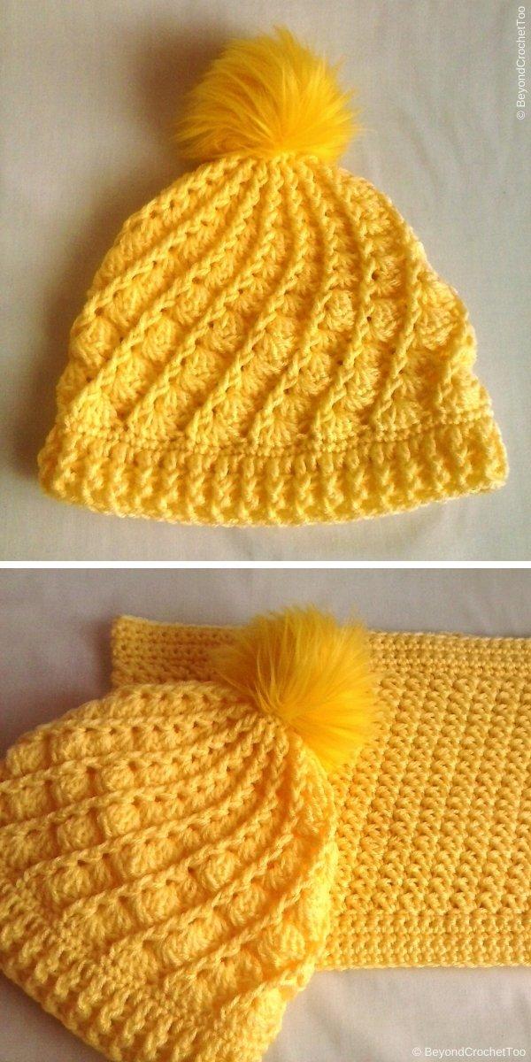 Divine Hat Free Crochet Pattern
