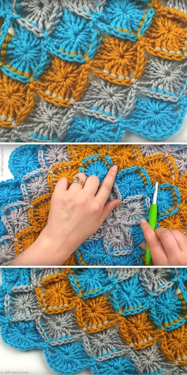 Bavarian Crochet Stitch Free Tutorial