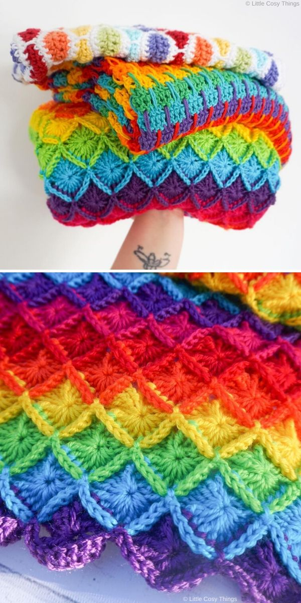 Bavarian Stitch Blanket by littlecosythings