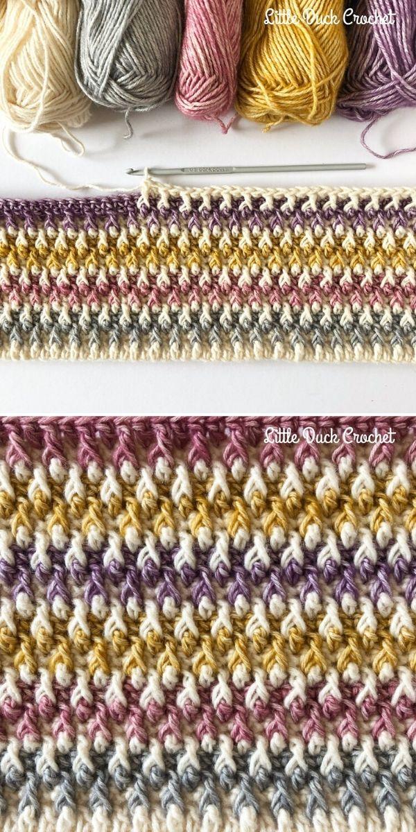 Alpine Stitch by Little Duck Crochet