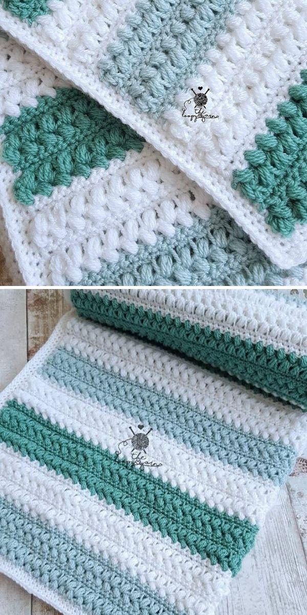 Aspen Blanket Crochet Pattern