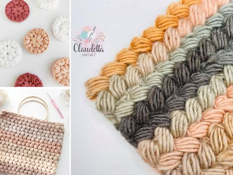Easy Crochet Braided Stitch Ideas