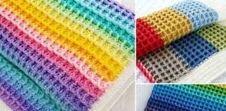 Structural Waffle Stitch Free Resources and Patterns