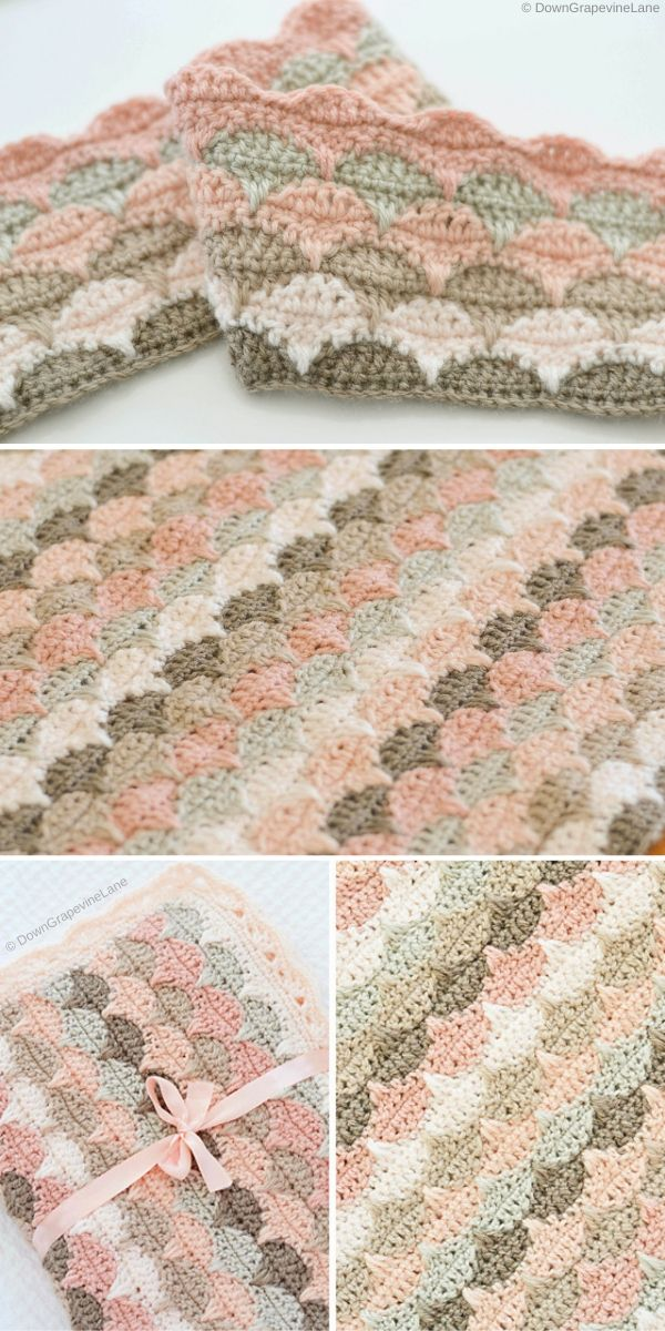 Clamshell Blanket by DownGrapevineLane