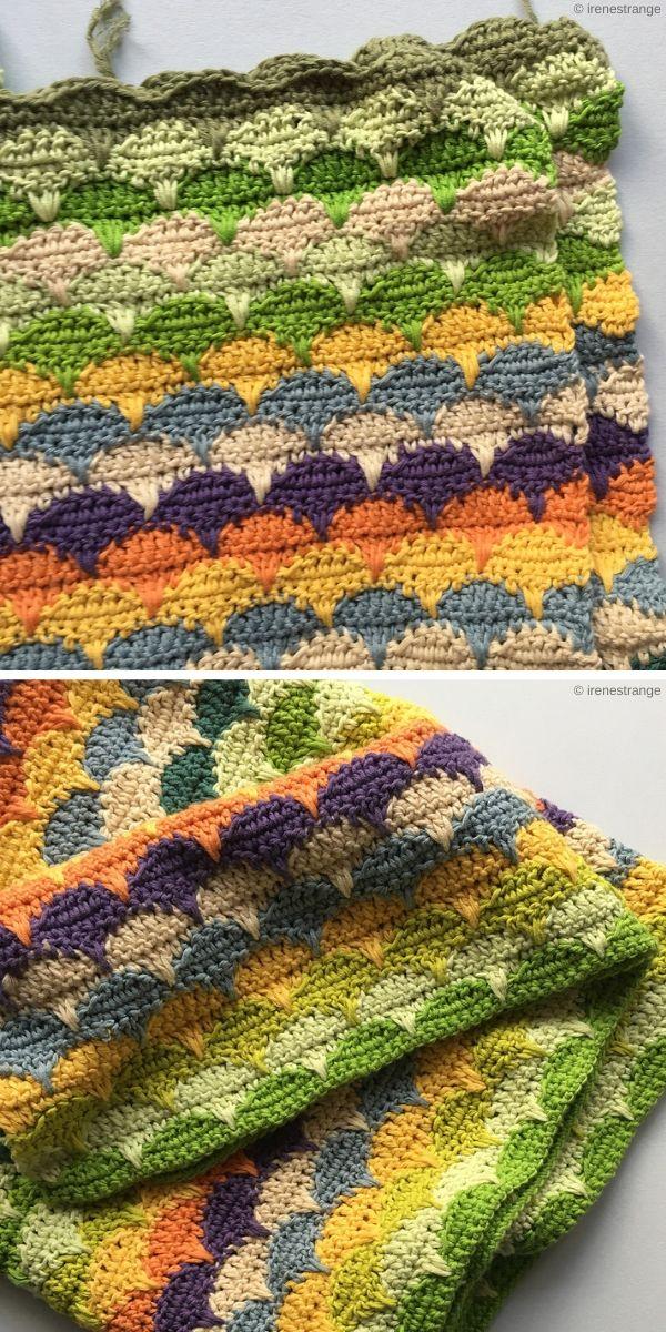 Clamshell Blanket by Irene Strange