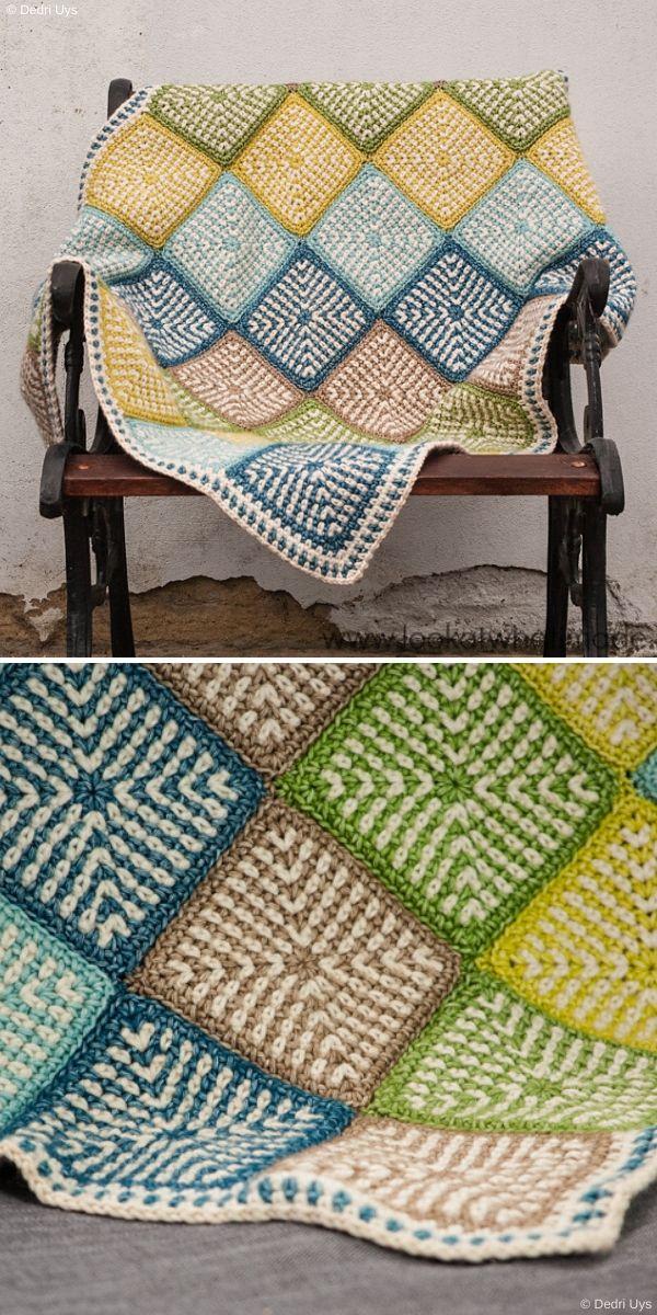 Linen Stitch Manghan by Dedri Uys
