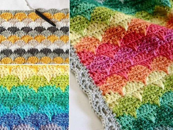 Vibrant Clamshell Stitch Ideas Free Resources