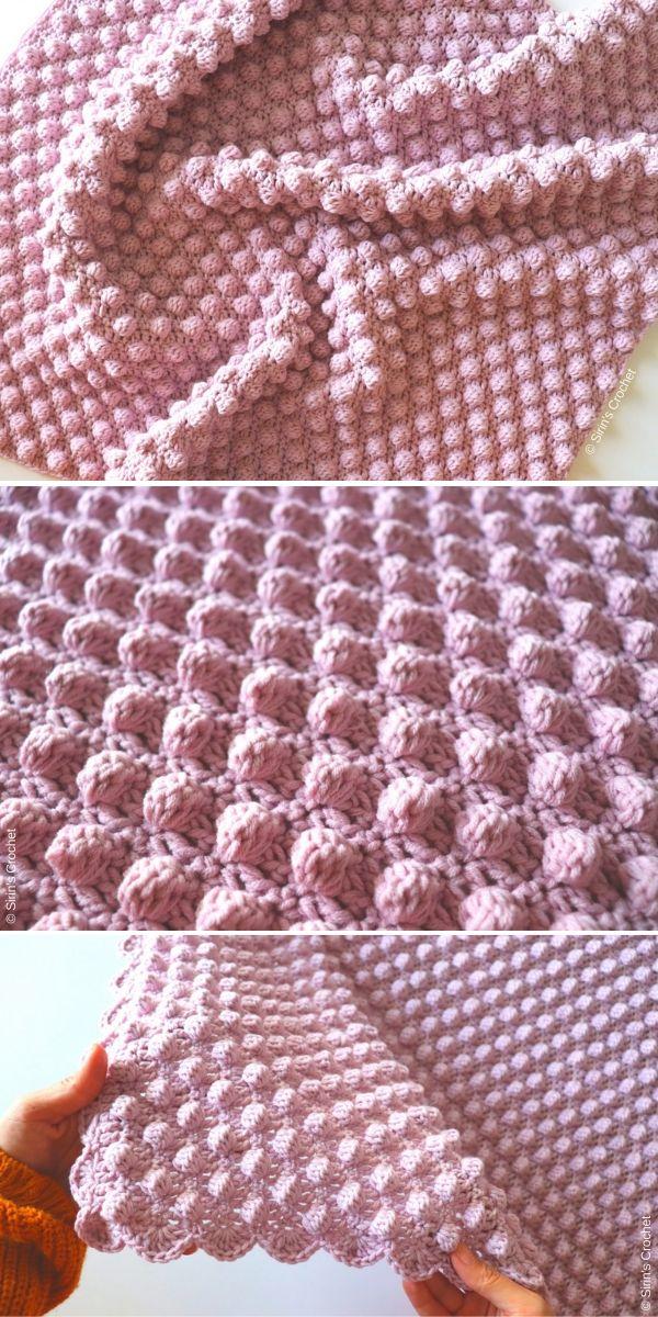 Bobble Blanket Tutorial by Sirin's Crochet