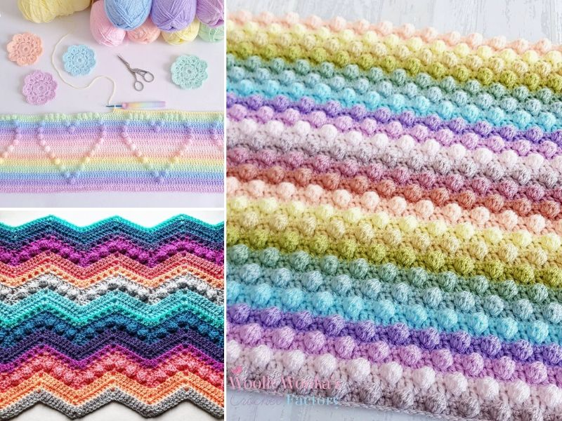 Fun Bobble Stitch Crochet Ideas