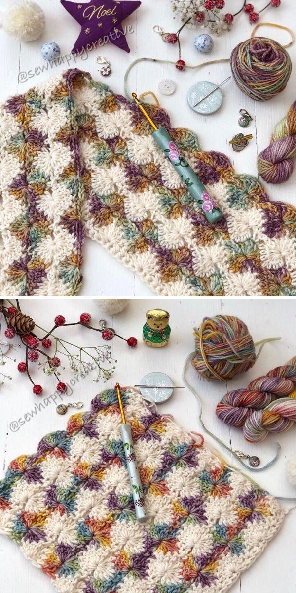 Catherine's Wheel Stitch by SewHappyCreative