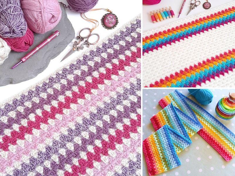 Granny Stripe Crochet Ideas
