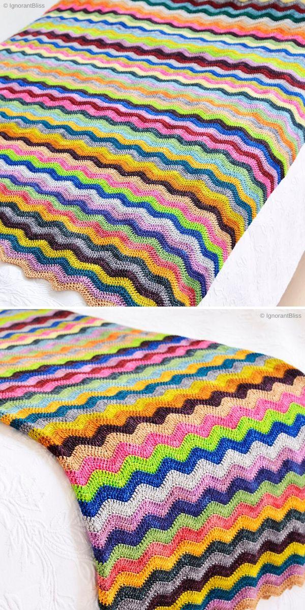 Neat Ripple Blanket by IgnorantBliss