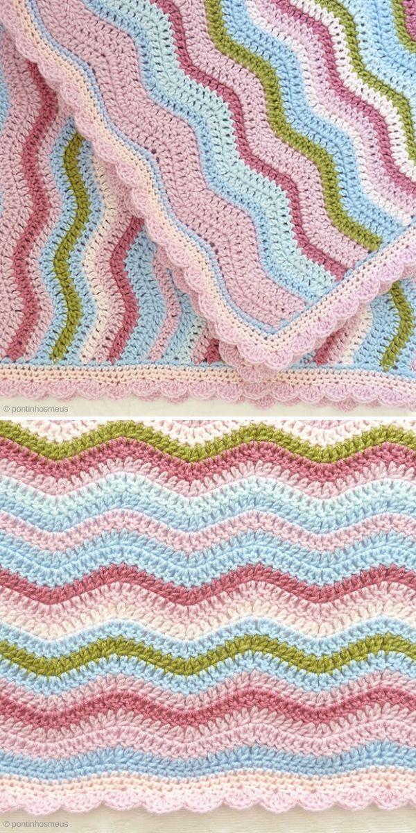 Neat Ripple Blanket by pontinhosmeus