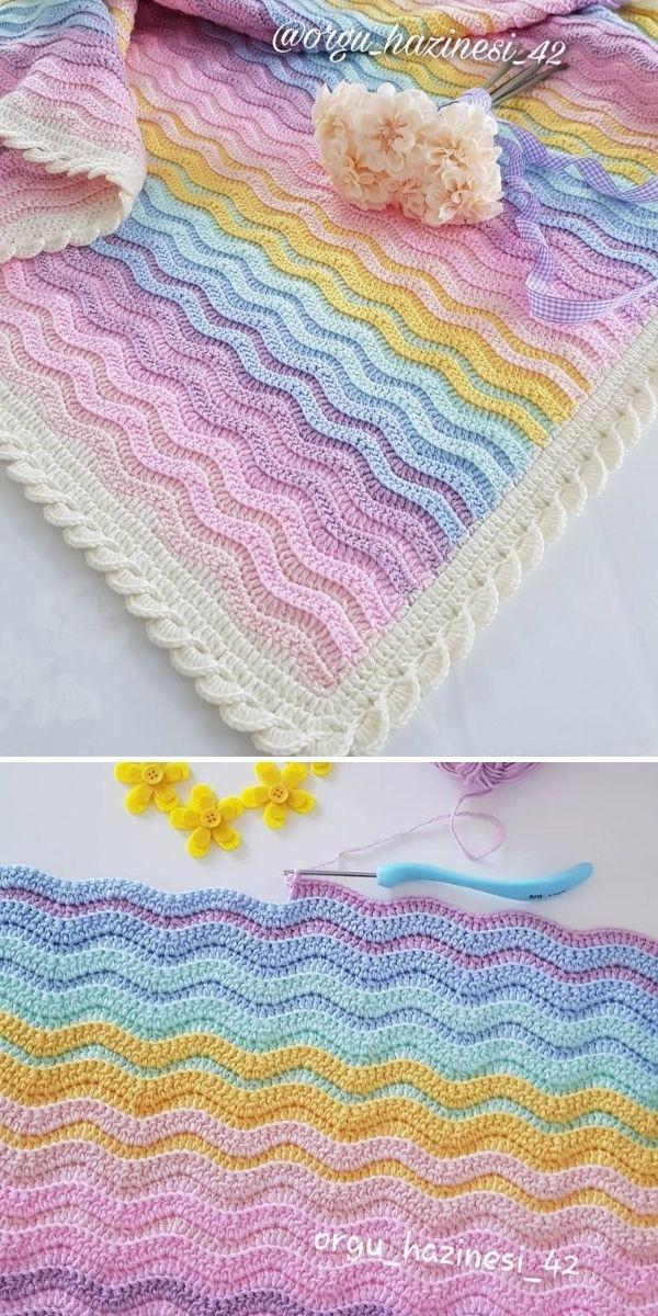 pastel sweet blanket