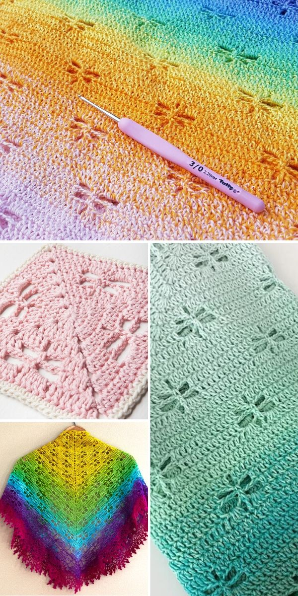 Crochet Dragonfly Stitch Free Patterns And Inspiration Crochetpedia