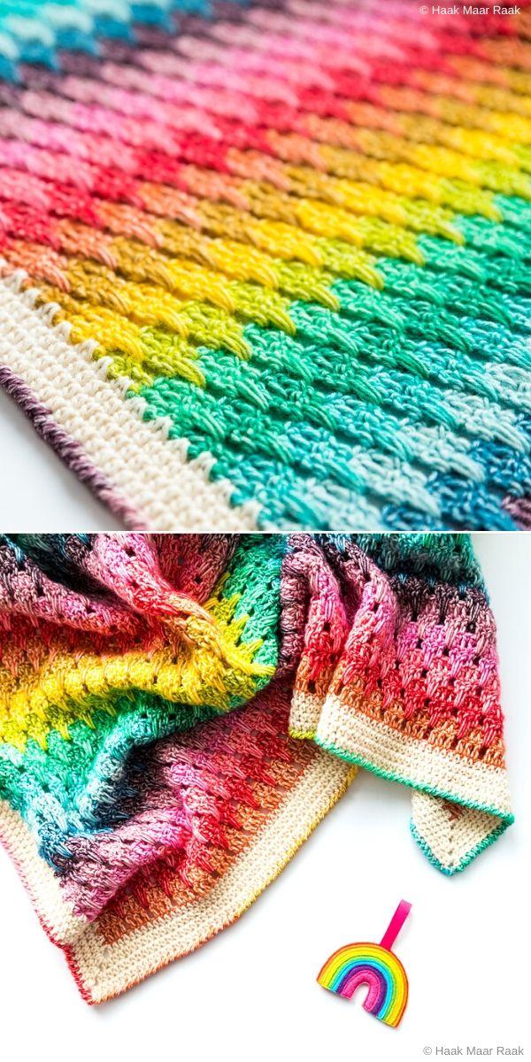 Little Larksfoot Rainbow Blanket