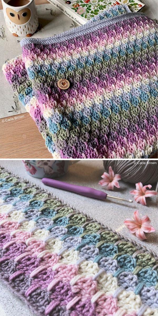 larksfoot crochet blanket