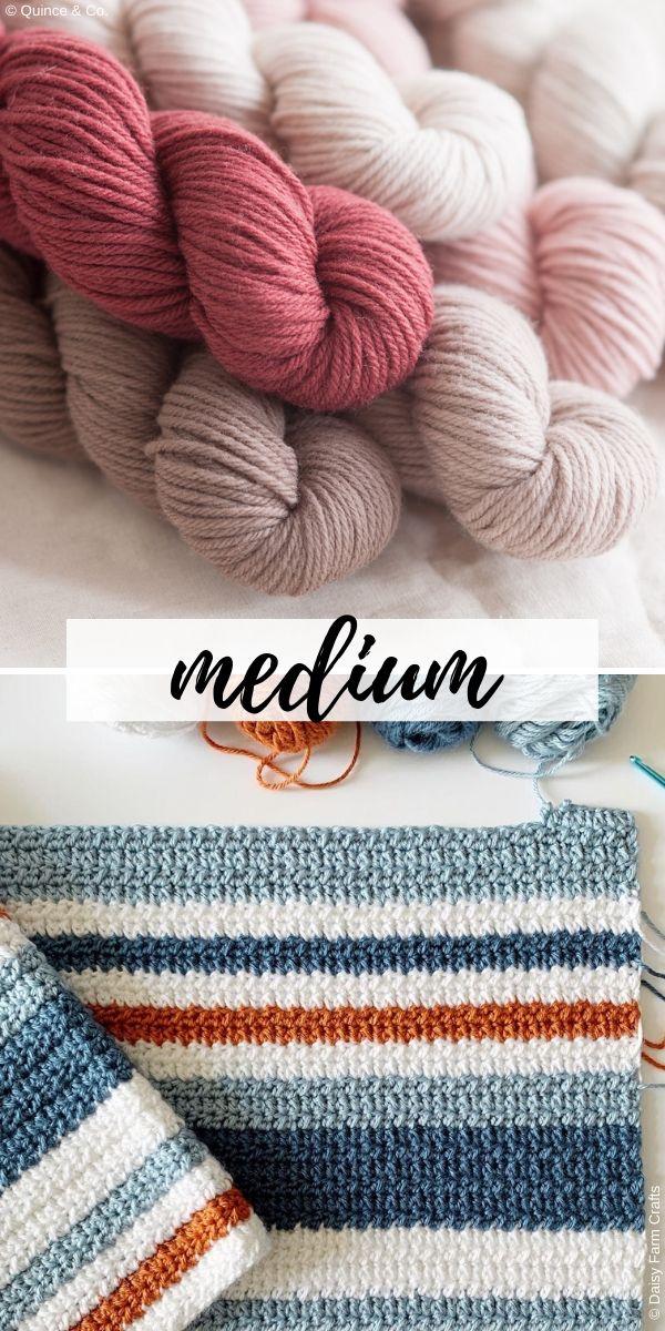 medium weight yarn