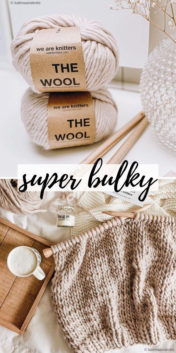 super bulky weight yarn