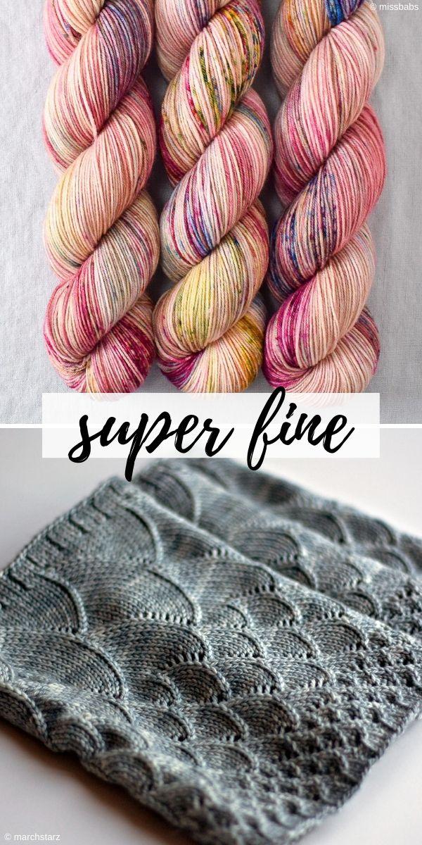 super fine weight yarn