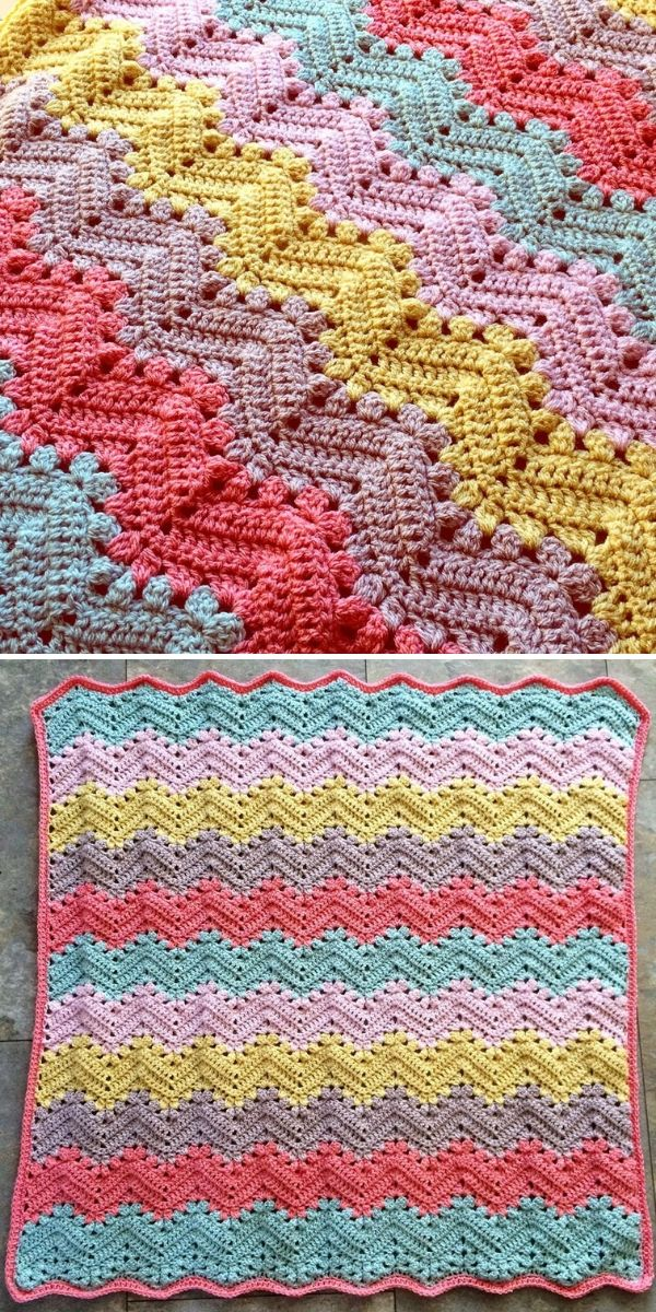 colorful 6-Day Kid Blanket