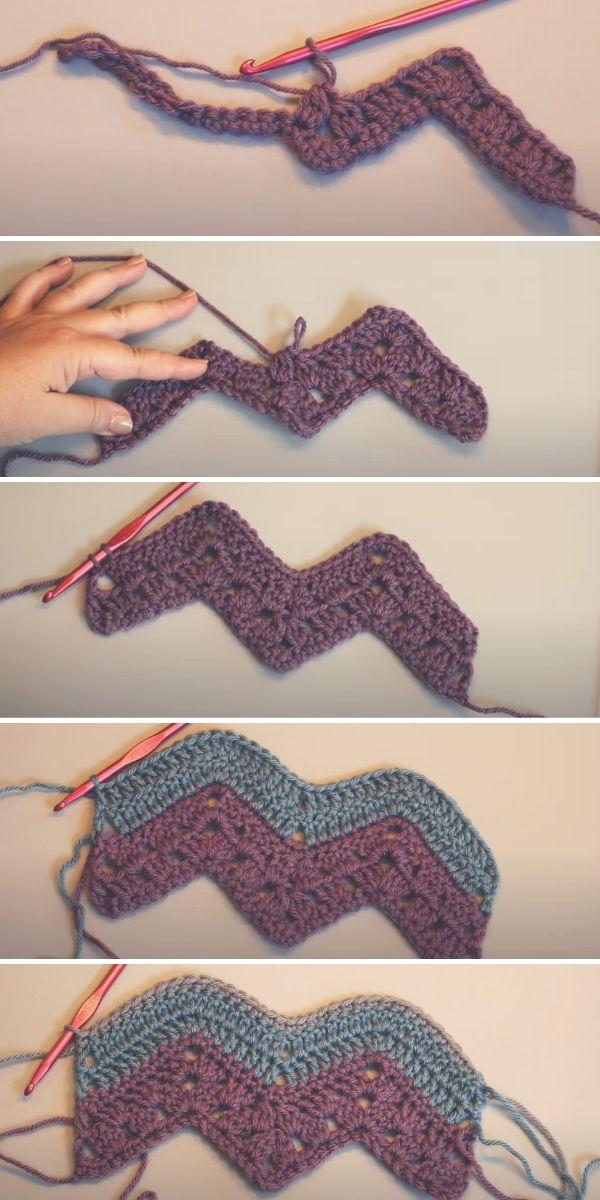 6 Day Kid Blanket Crochet Tutorial