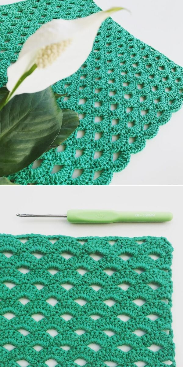 Arcade Stitch in green