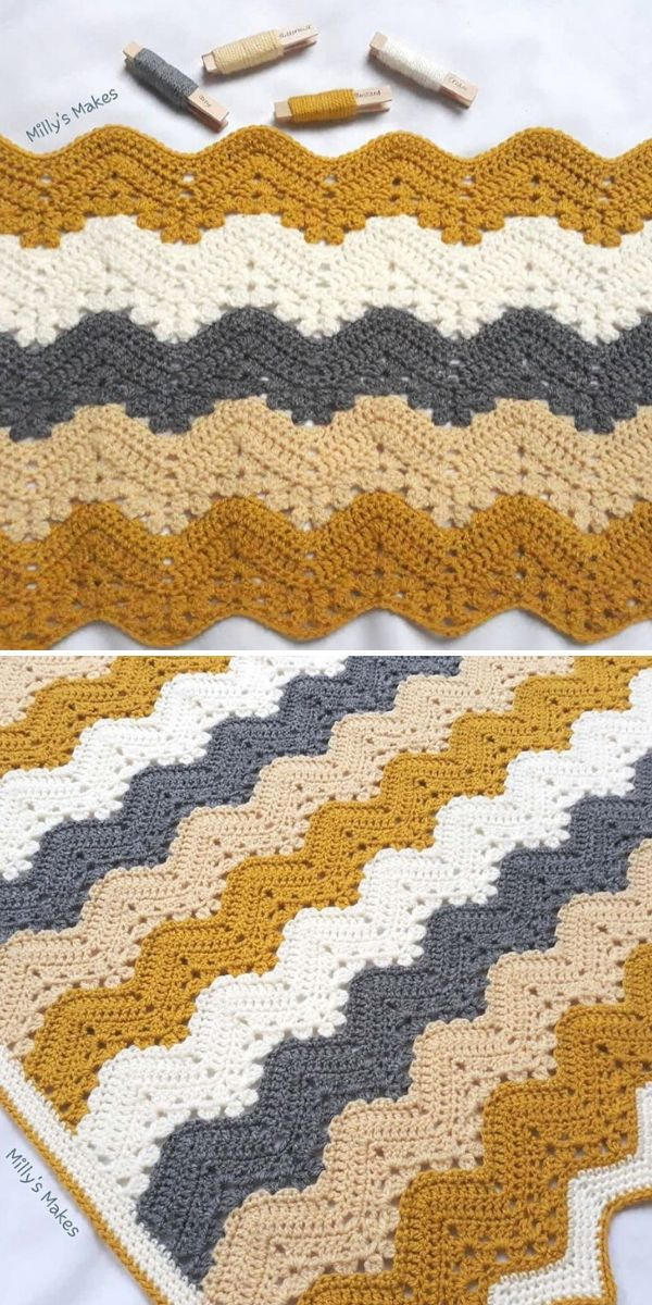 beige and grey 6-Day Kid Blanket