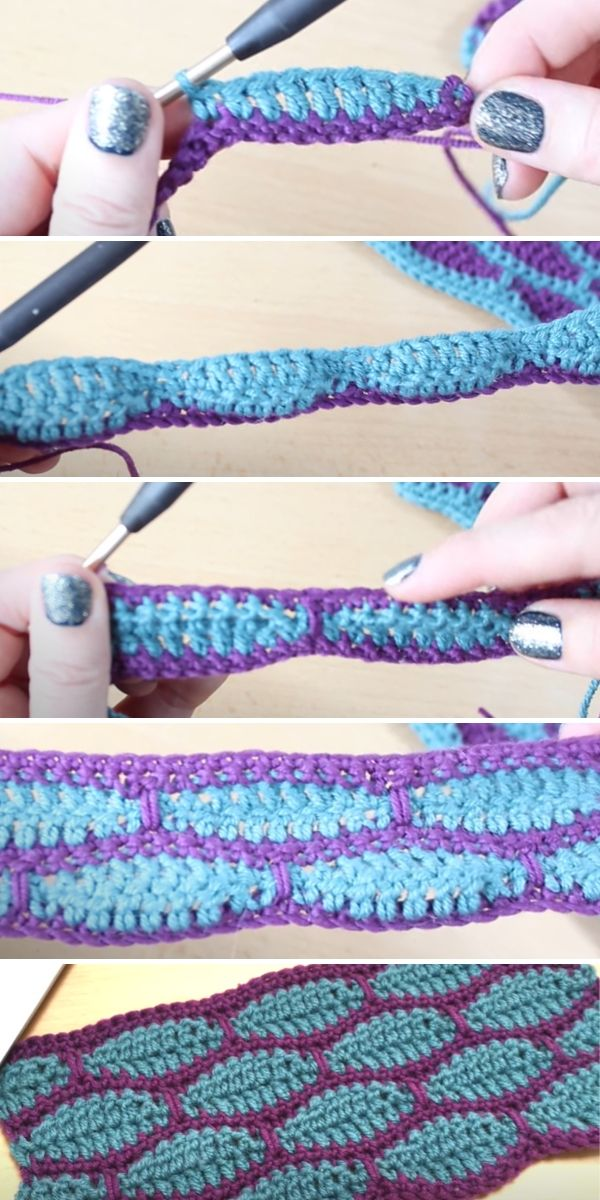 Millstone Stitch Crochet Tutorial