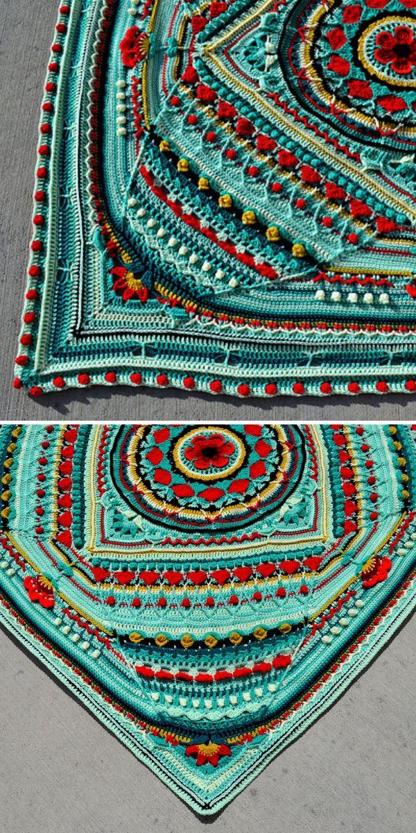 Green Sophie's Universe Blanket